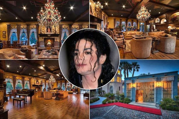 Thriller villa of michael jackson