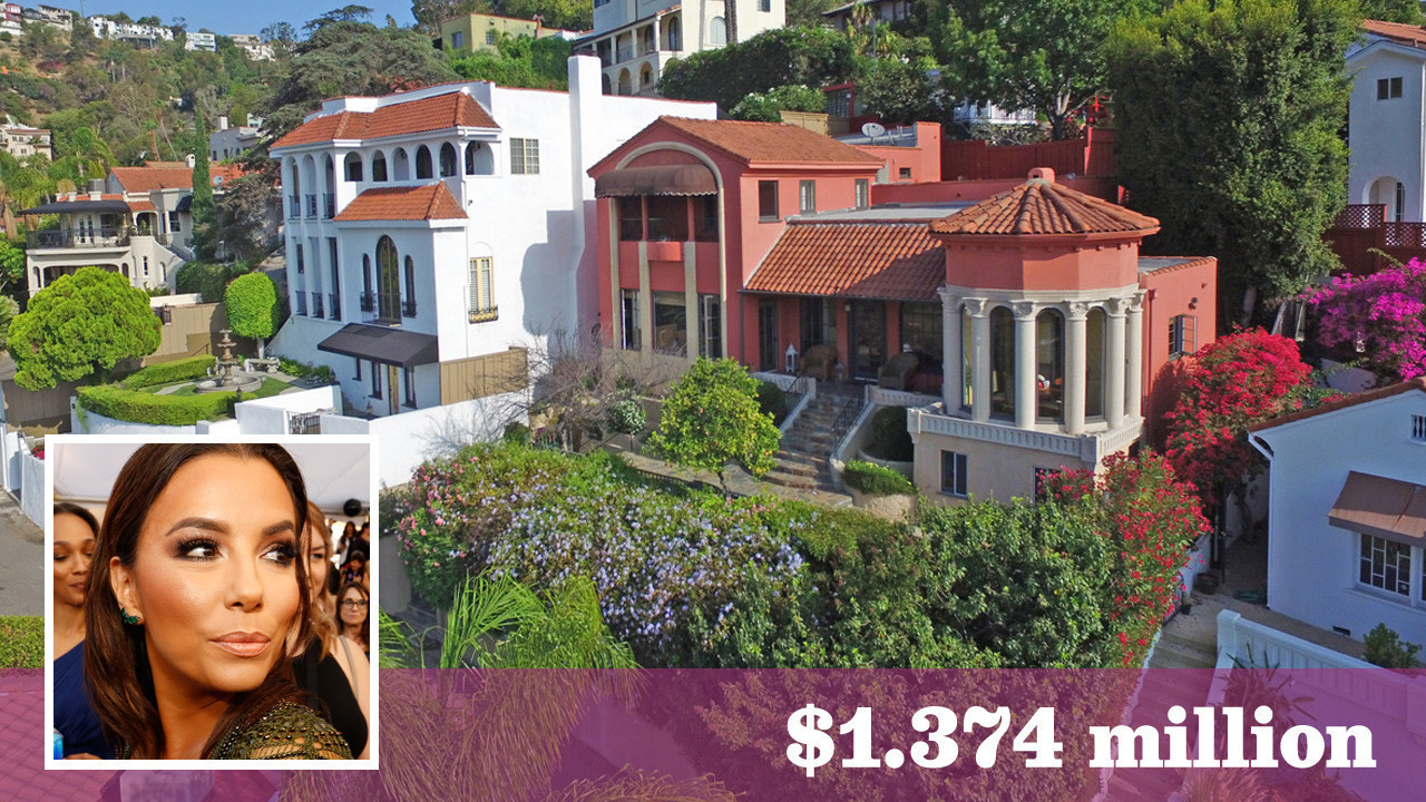 eva longoria hollywood home