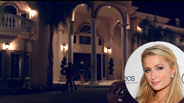 paris hilton's home