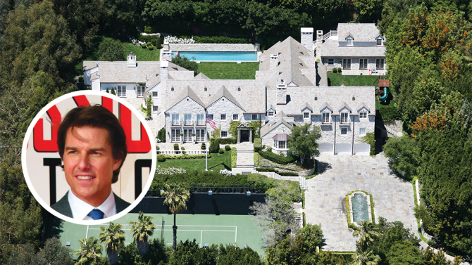 tom cruise's home