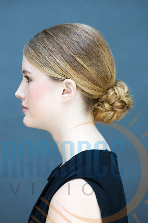 knotted low bun  modelling agencies mumbai