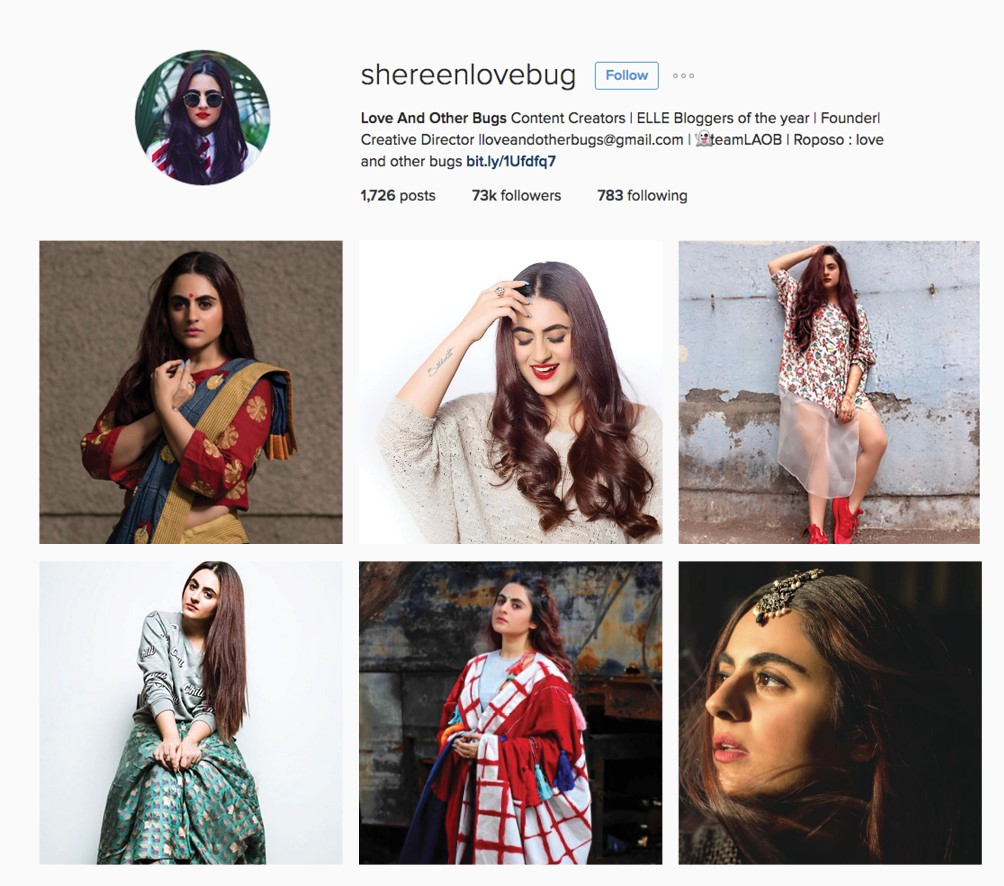 best model accounts on instagram