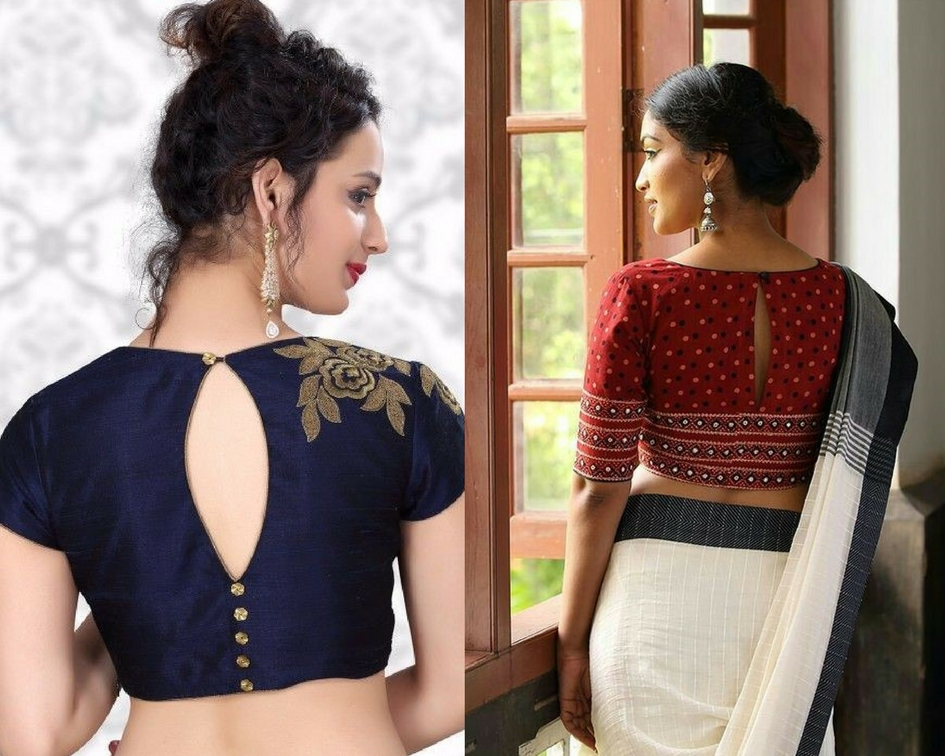 Back slit blouse design- modelling agencies in mumbai
