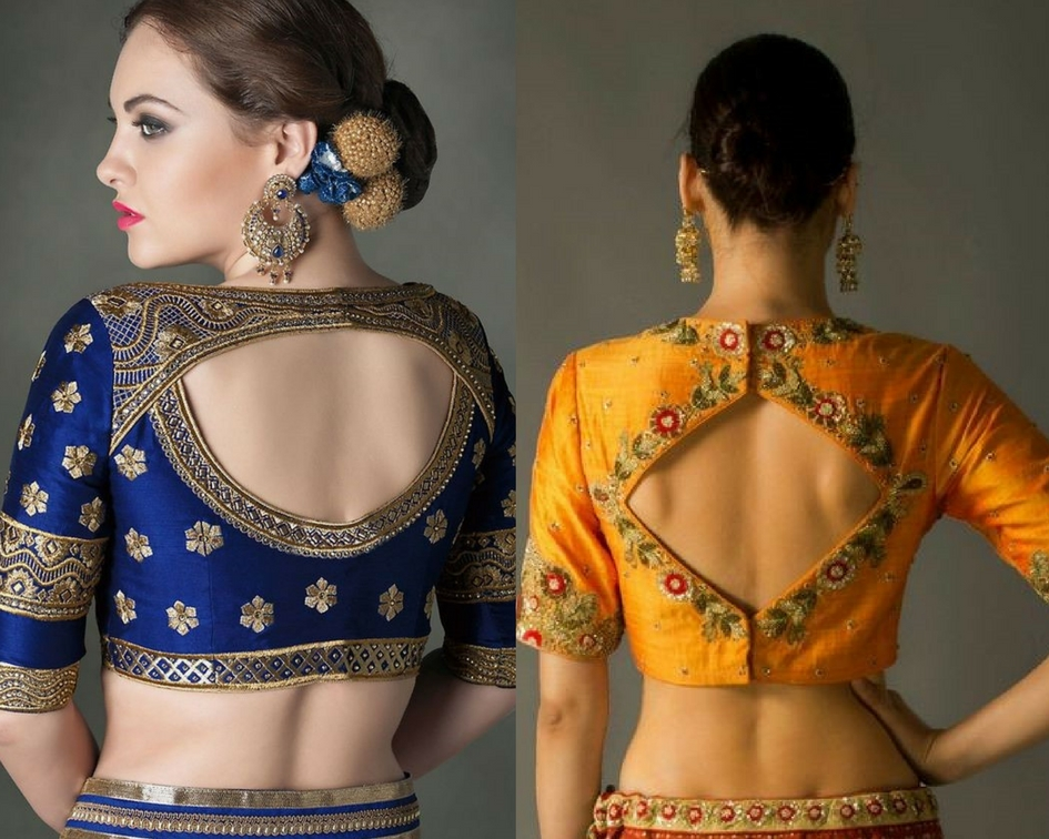 Cut out blouse designs-modelling agencies in mumbai