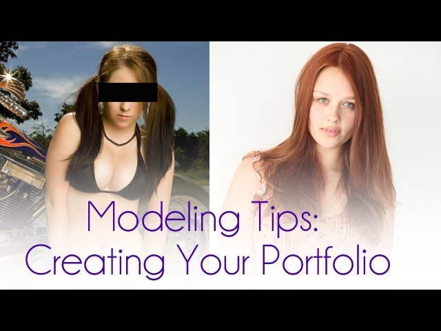 how to create modelling portfolio