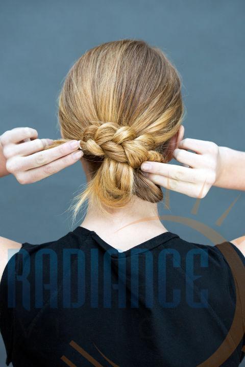 knotted low bun modelling agencies mumbai