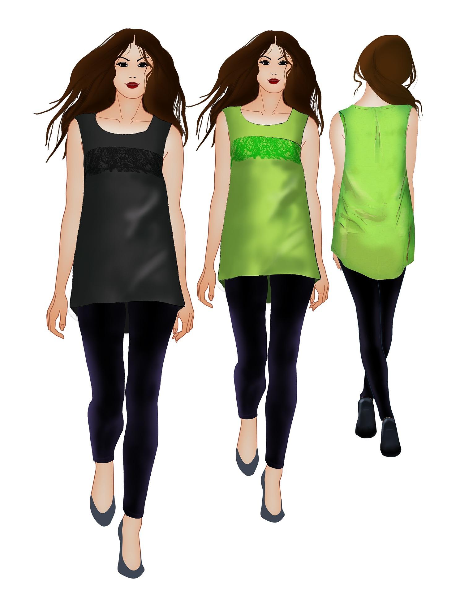 types of modelling list
