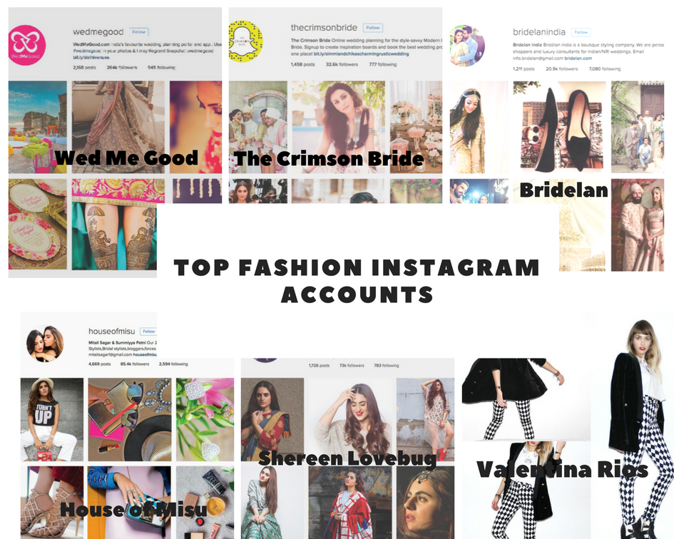 fashion Instagram accounts