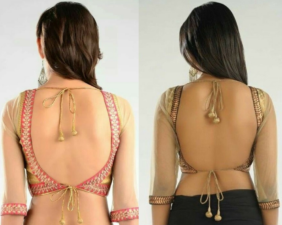 Backless tie-up back neck- modelling agencies in mumbai