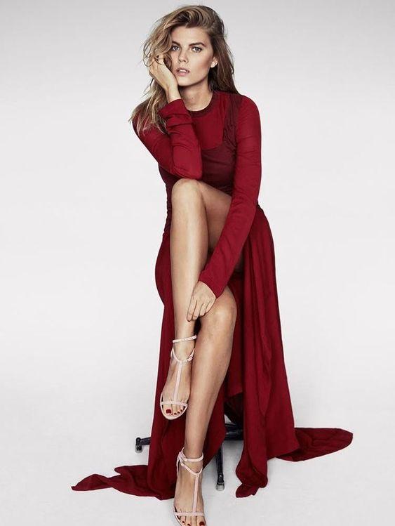 Glamour-model