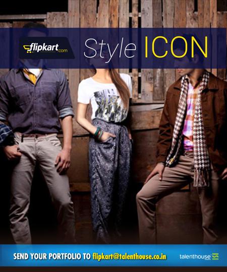 Flipkart style icon